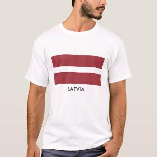 Bandera de Letonia Playera