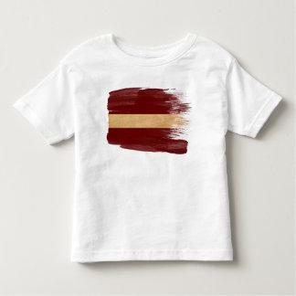 Bandera de Letonia Playera De Bebé