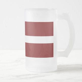 Bandera de Letonia Taza De Café