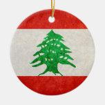 Bandera de Líbano Adorno De Reyes