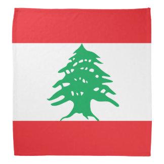 Bandera de Líbano Bandana