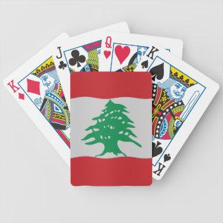 Bandera de Líbano Baraja
