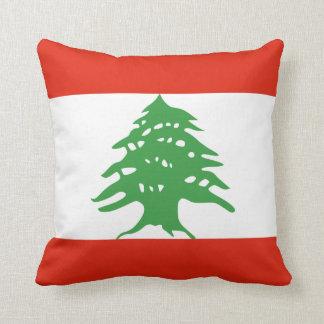Bandera de Líbano Cojín Decorativo