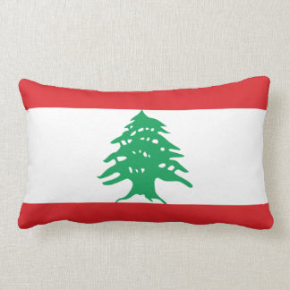 Bandera de Líbano Cojín Lumbar