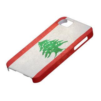 Bandera de Líbano iPhone 5 Funda