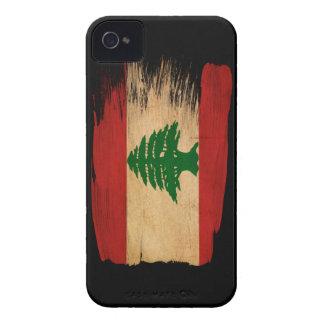 Bandera de Líbano iPhone 4 Case-Mate Protector