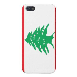 Bandera de Líbano iPhone 5 Protector