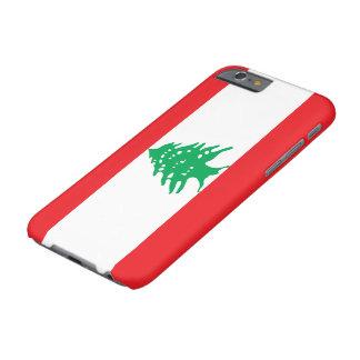 Bandera de Líbano Funda Para iPhone 6 Barely There