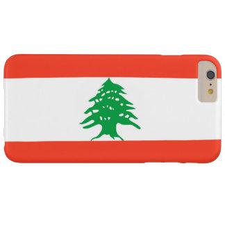Bandera de Líbano Funda Para iPhone 6 Plus Barely There