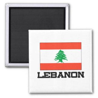 Bandera de Líbano Imán De Nevera