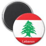 Bandera de Líbano Imanes