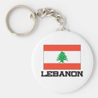 Bandera de Líbano Llaveros