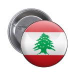 Bandera de Líbano Pin