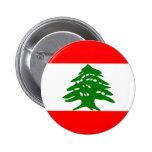 Bandera de Líbano Pins