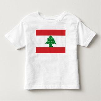Bandera de Líbano Playera De Bebé