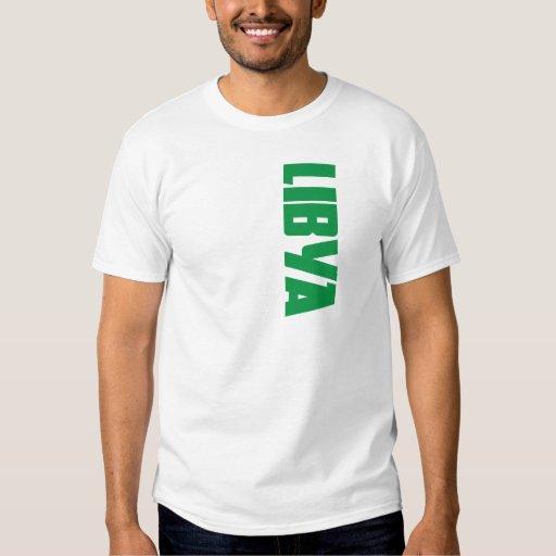 Bandera de Libia Camisas