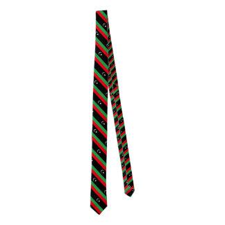 Bandera de Libia Corbata Fina