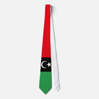 Bandera de Libia Corbatas Personalizadas