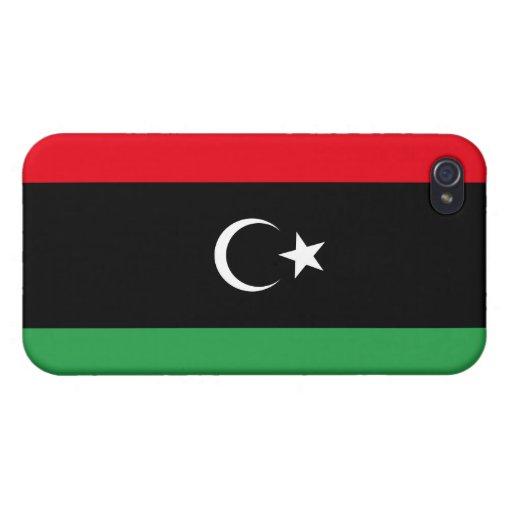 Bandera de Libia iPhone 4/4S Funda
