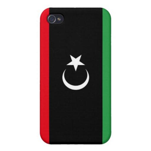 Bandera de Libia iPhone 4/4S Fundas