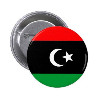 Bandera de Libia Pin Redondo De 2 Pulgadas