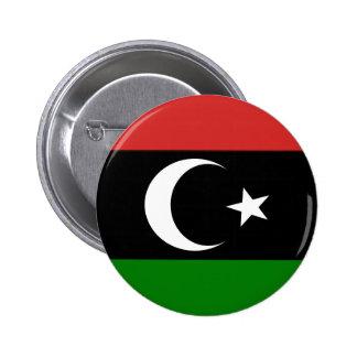 Bandera de Libia pre-1977 Pin Redondo De 2 Pulgadas