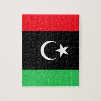 Bandera de Libia Puzzle