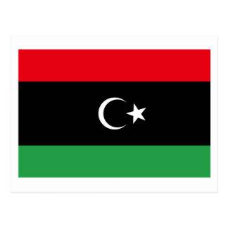 Bandera de Libia Postal