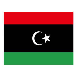 Bandera de Libia Postales