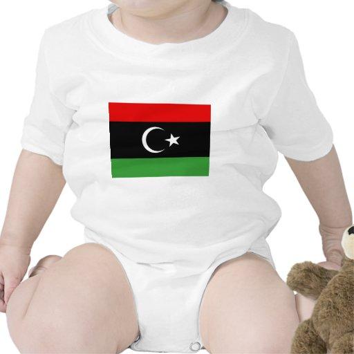 Bandera de Libia Traje De Bebé