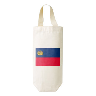 Bandera de Liechtenstein Bolsa Para Botella De Vino Zazzle HEART
