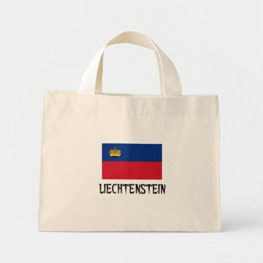 Bandera de Liechtenstein Bolsa Tela Pequeña