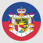 Bandera de Liechtenstein (estado), Liechtenstein Etiquetas Redondas