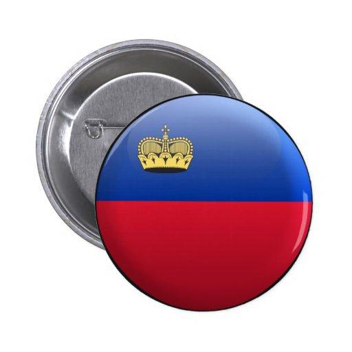 Bandera de Liechtenstein Pin