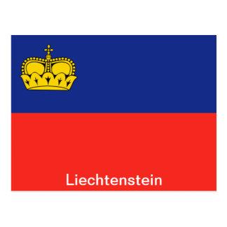 Bandera de Liechtenstein Postal