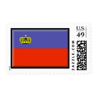 Bandera de Liechtenstein Sello