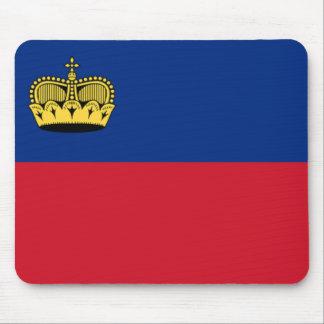 Bandera de Liechtenstein Tapete De Ratones