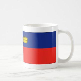 Bandera de Liechtenstein Taza Clásica