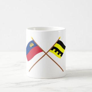 Bandera de Liechtenstein y bandera de Schellenberg Taza Clásica