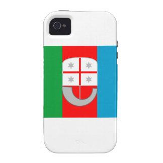Bandera de Liguria (Italia) Vibe iPhone 4 Carcasa