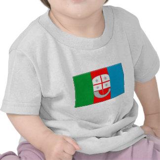 Bandera de Liguria (Italia) Camisetas