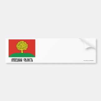 Bandera de Lipetsk Oblast Pegatina De Parachoque