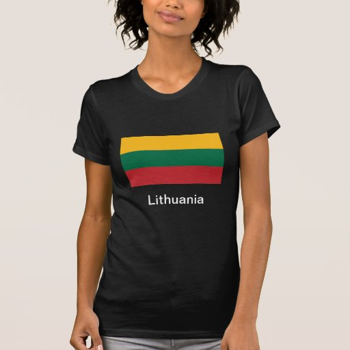 Bandera de Lituania Camisas