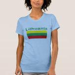 Bandera de Lituania Camisetas