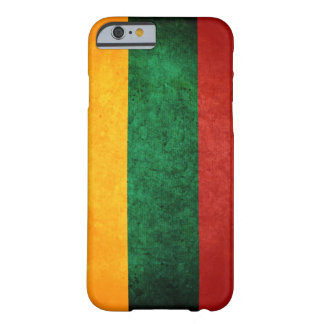 Bandera de Lituania Funda De iPhone 6 Barely There