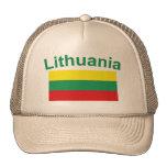 Bandera de Lituania Gorros Bordados
