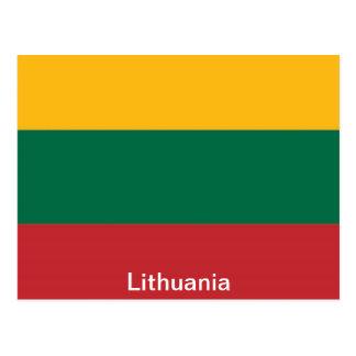 Bandera de Lituania Postales