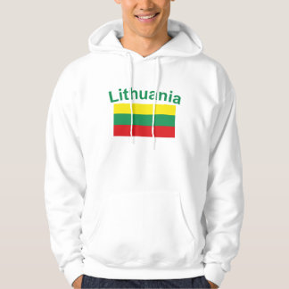Bandera de Lituania Sudaderas Con Capucha