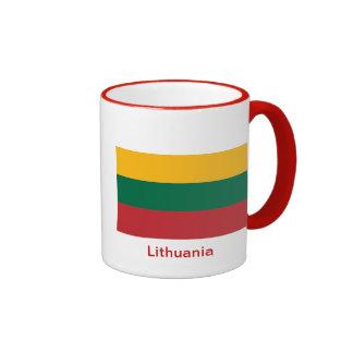 Bandera de Lituania Taza A Dos Colores