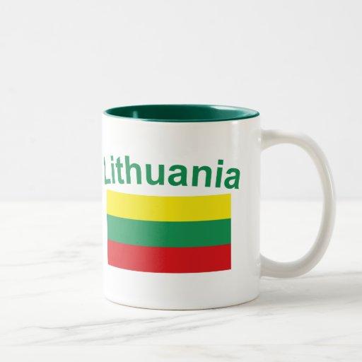 Bandera de Lituania Tazas